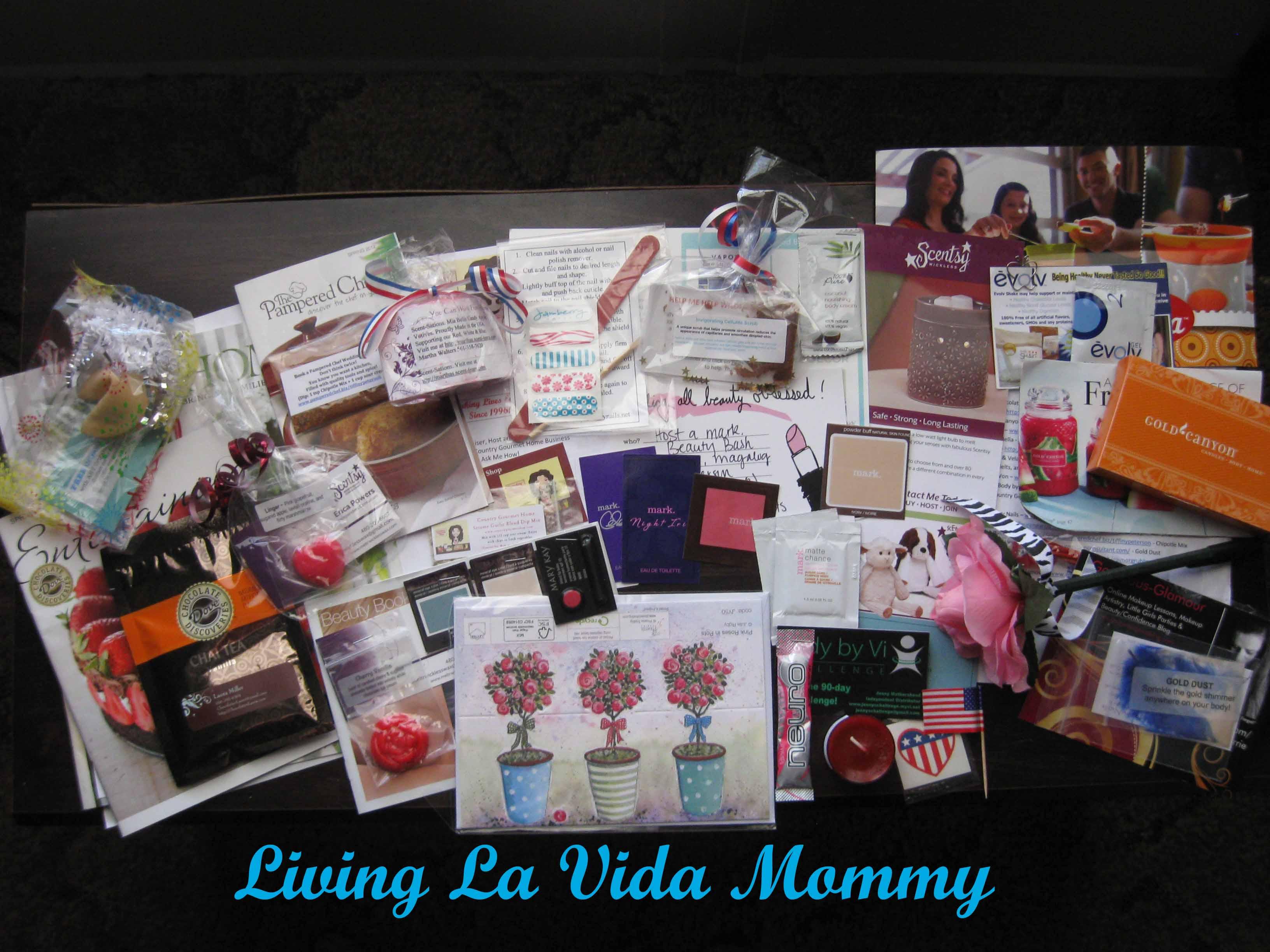 My Dream Sample Box Review | Living La Vida Mommy