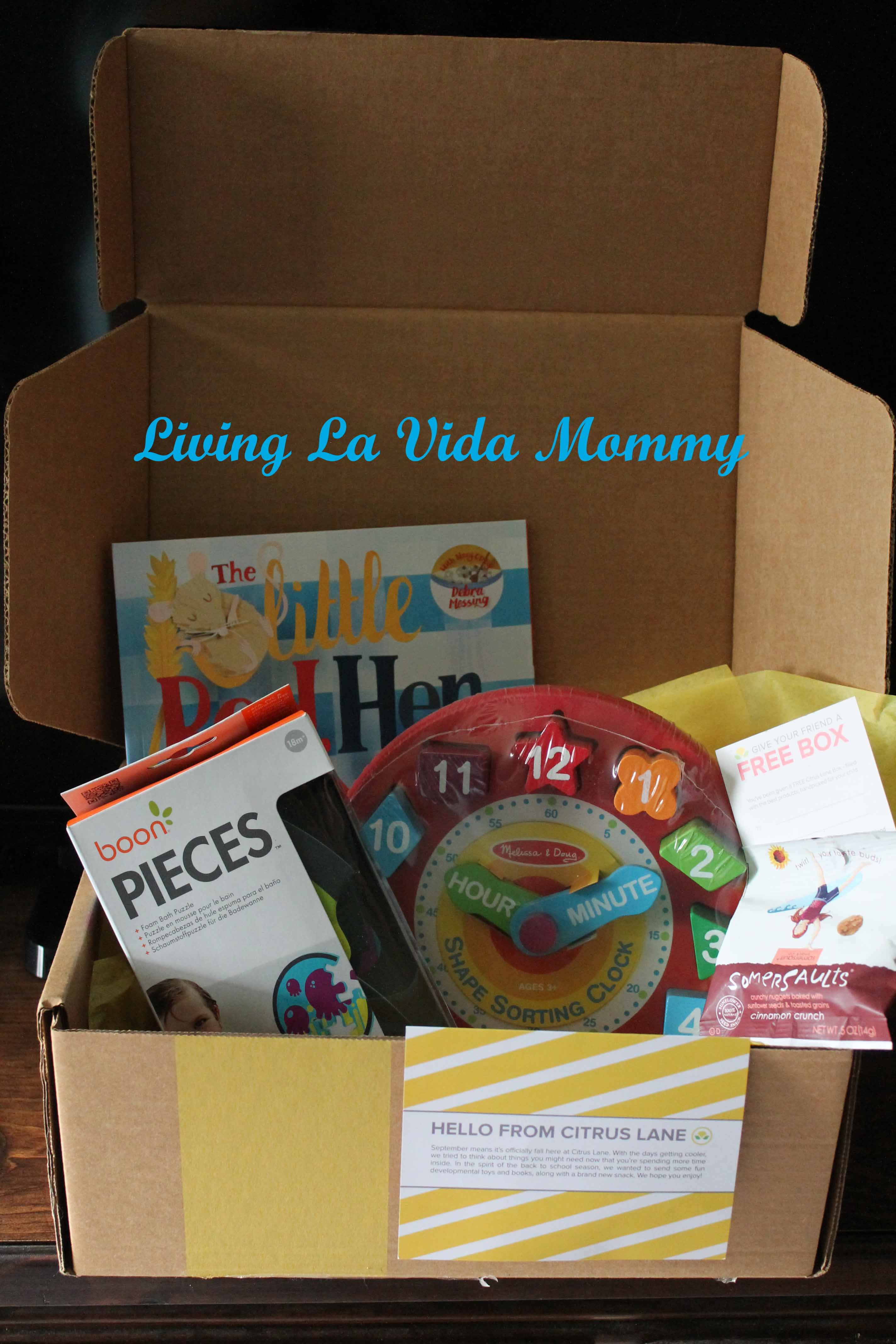 Citrus Lane | Living La Vida Mommy
